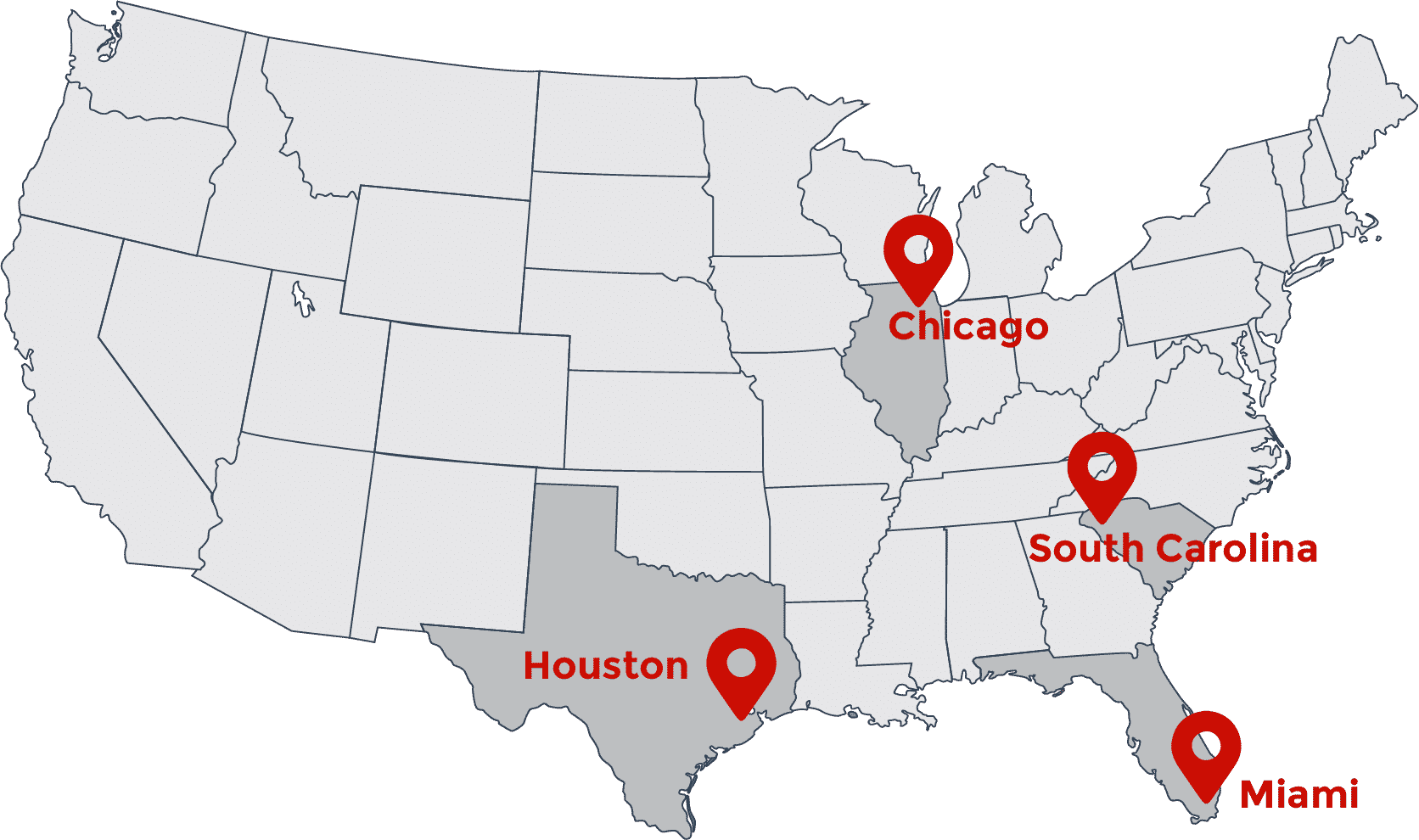 American Lamprecht Warehouse Locations