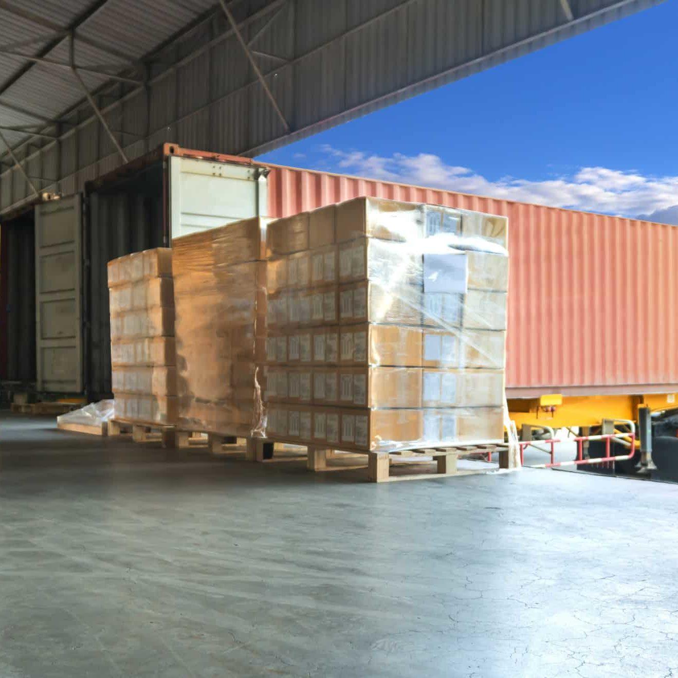 American Lamprecht IMTS Show shipping truck