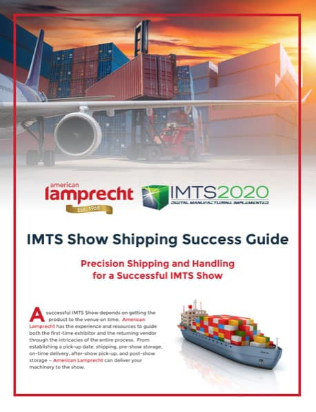 IMTS Shipping Guide